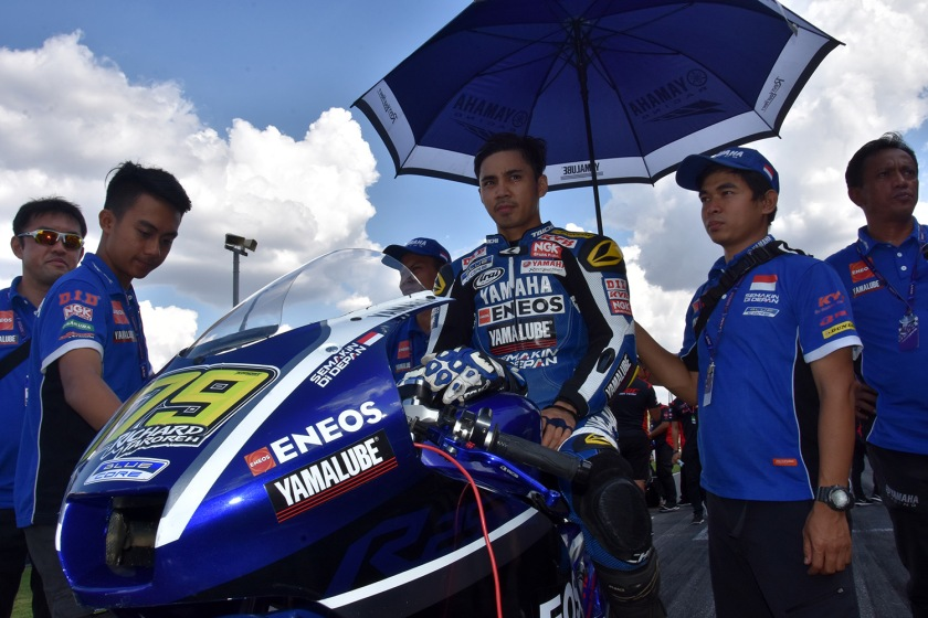 Richard Taroreh, Tim Yamaha Racing Indonesia (AP250) (1)