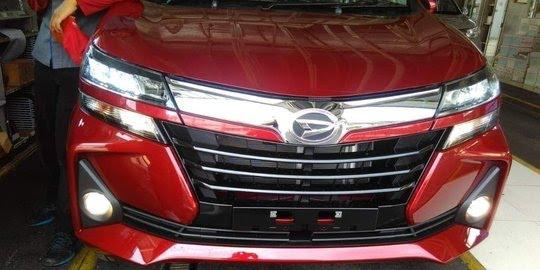 Tampilan wajah baru New Daihatsu Xenia 2019