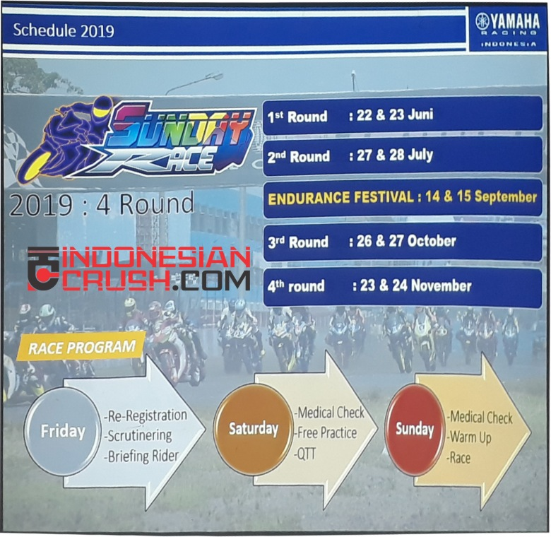 Schedule YSR 2019