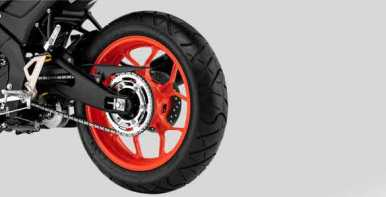 TUBELESS WIDE TIRE