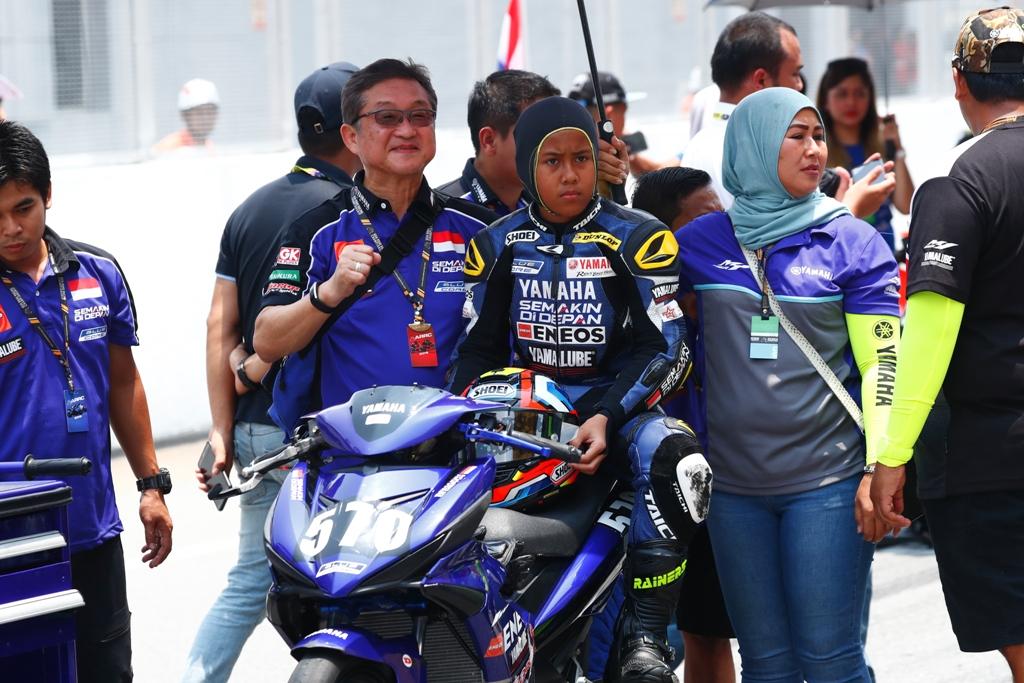 RACE 2 ARRC SEPANG, HASIL POSITIF BERHASIL DI RAIH PEMBALAP YAMAHAINDONESIA
