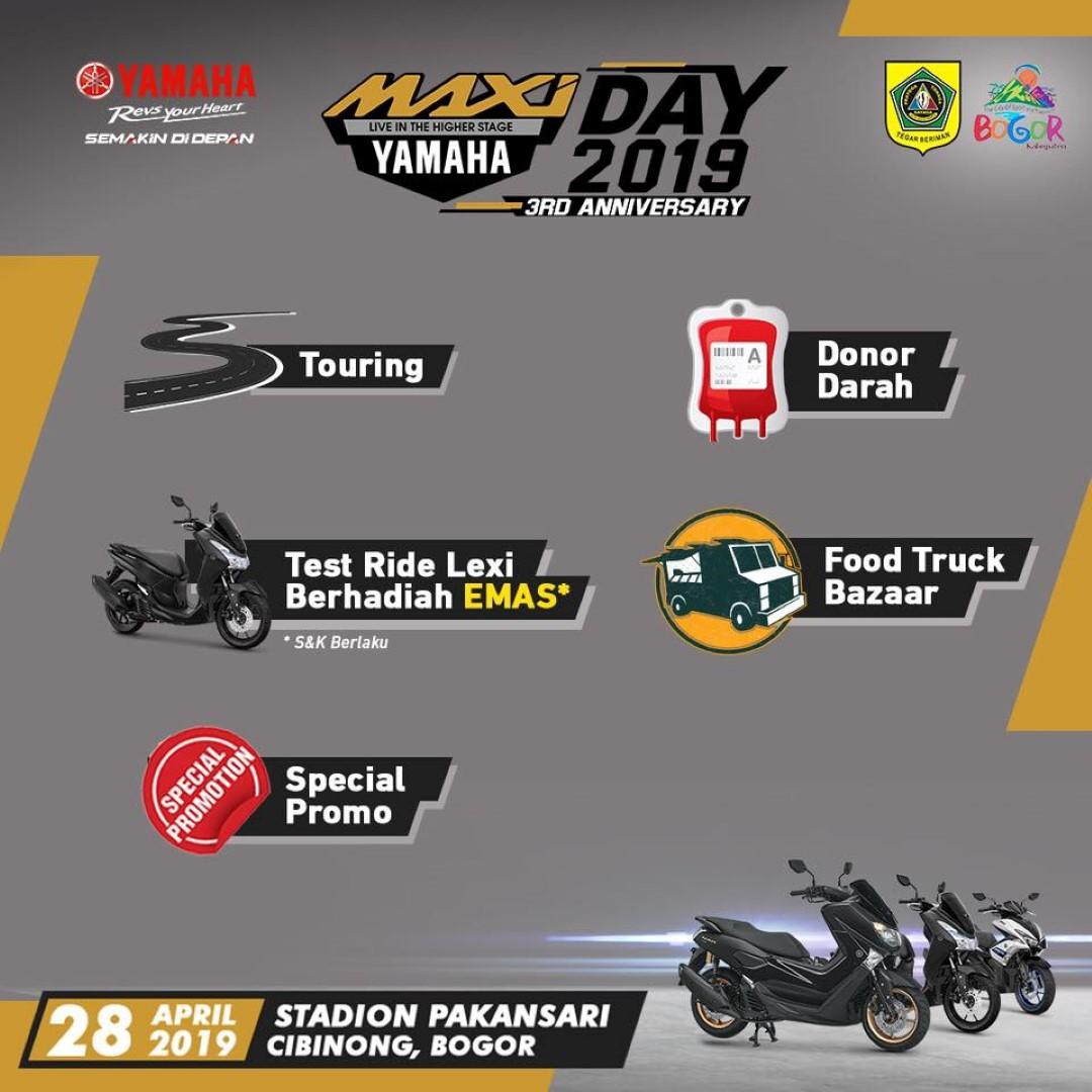 MAXI Yamaha Day Dibuka di Stadion Pakansari Cibinong Bogor (2)