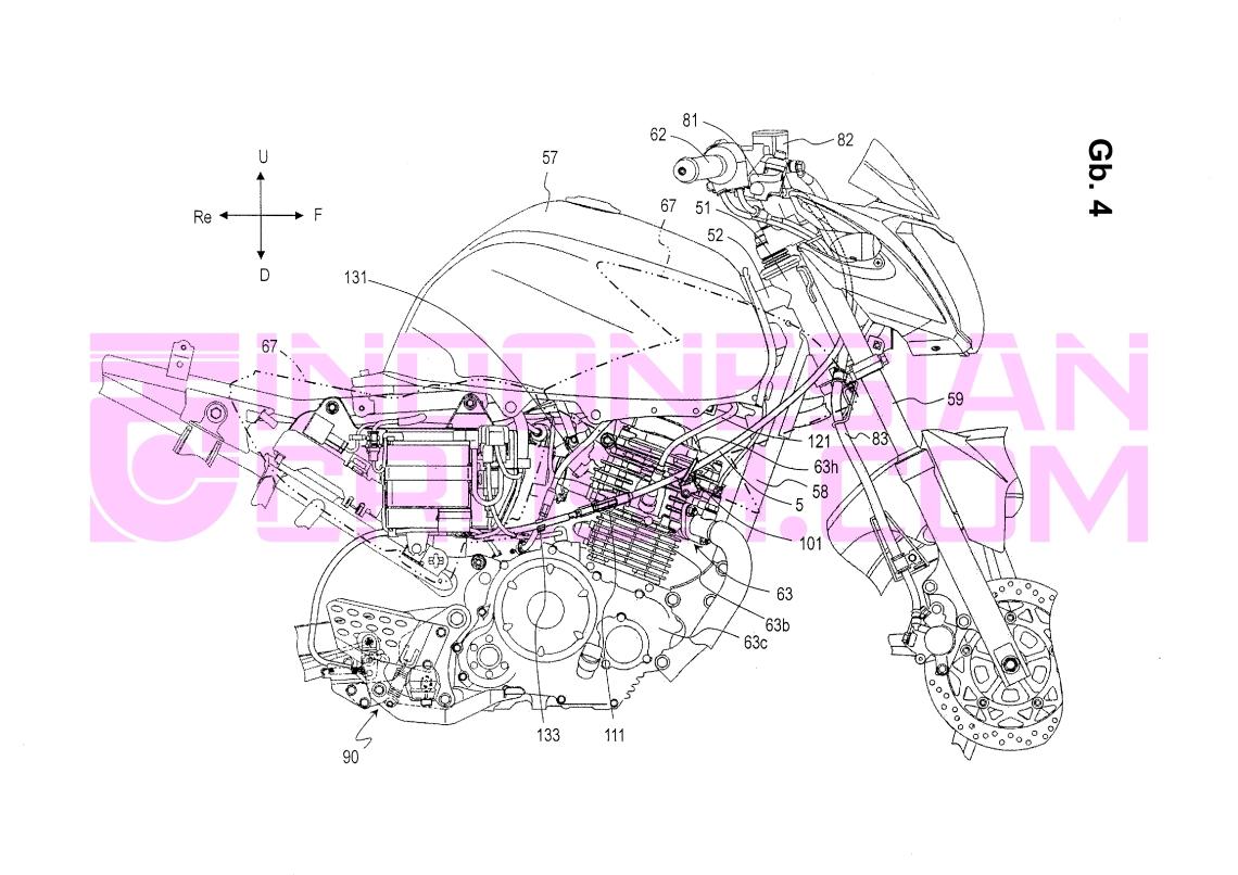 Sport Combi Brake Patent