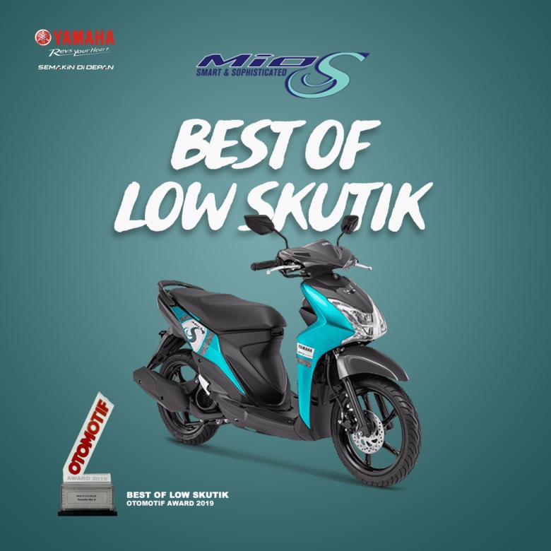 Yamaha Mio S - Best of Low Skutik