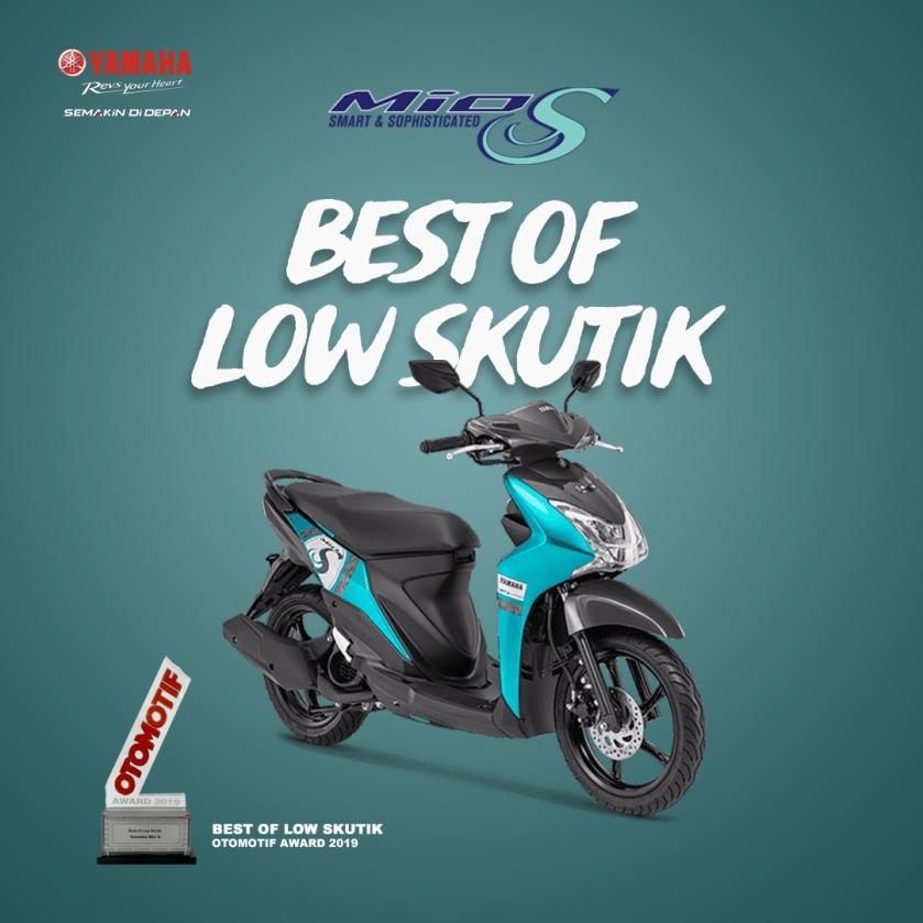 Yamaha Mio S - Best of Low Skutik