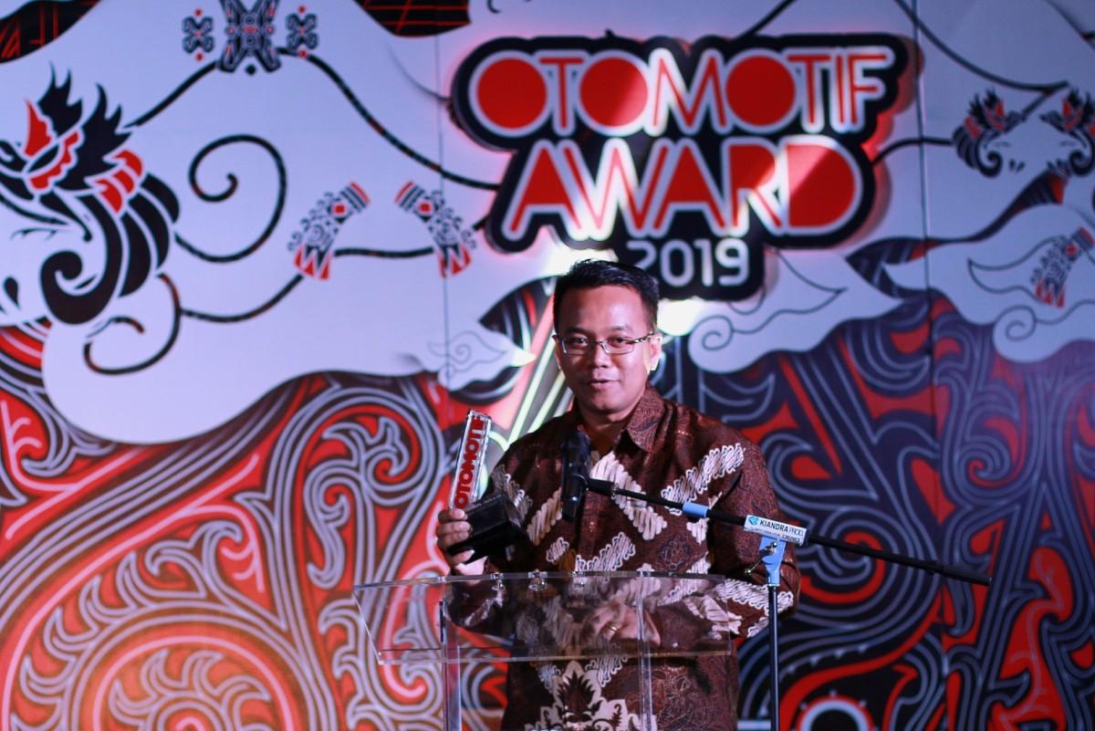 MOTOR MATIC YAMAHA DOMINASI OTOMOTIF AWARD2019