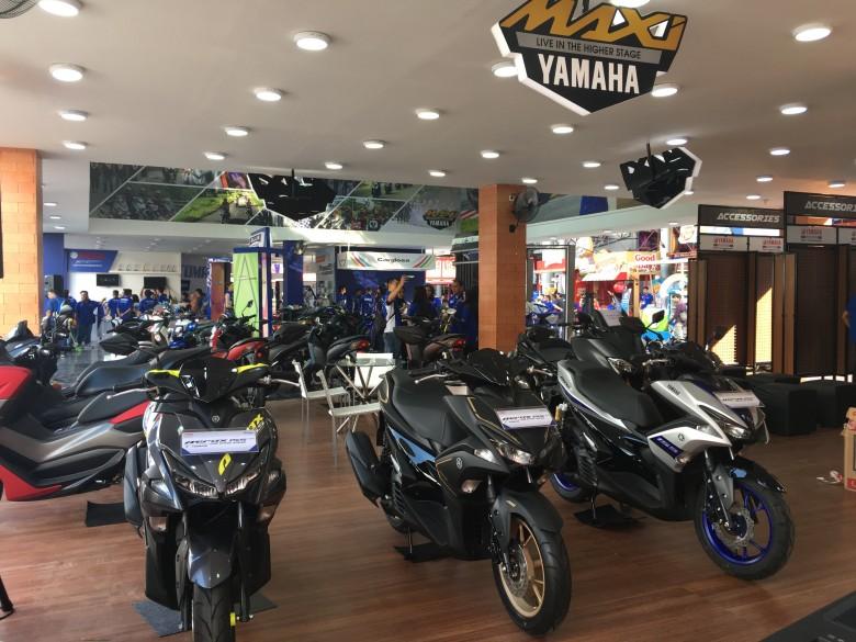 Booth Yamaha di Jakarta Fair 2019 (6)