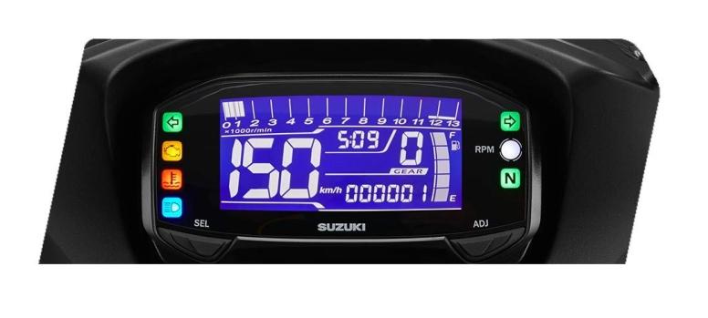 New LCD Speedometer Backlight