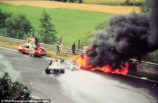 Niki Lauda Crash