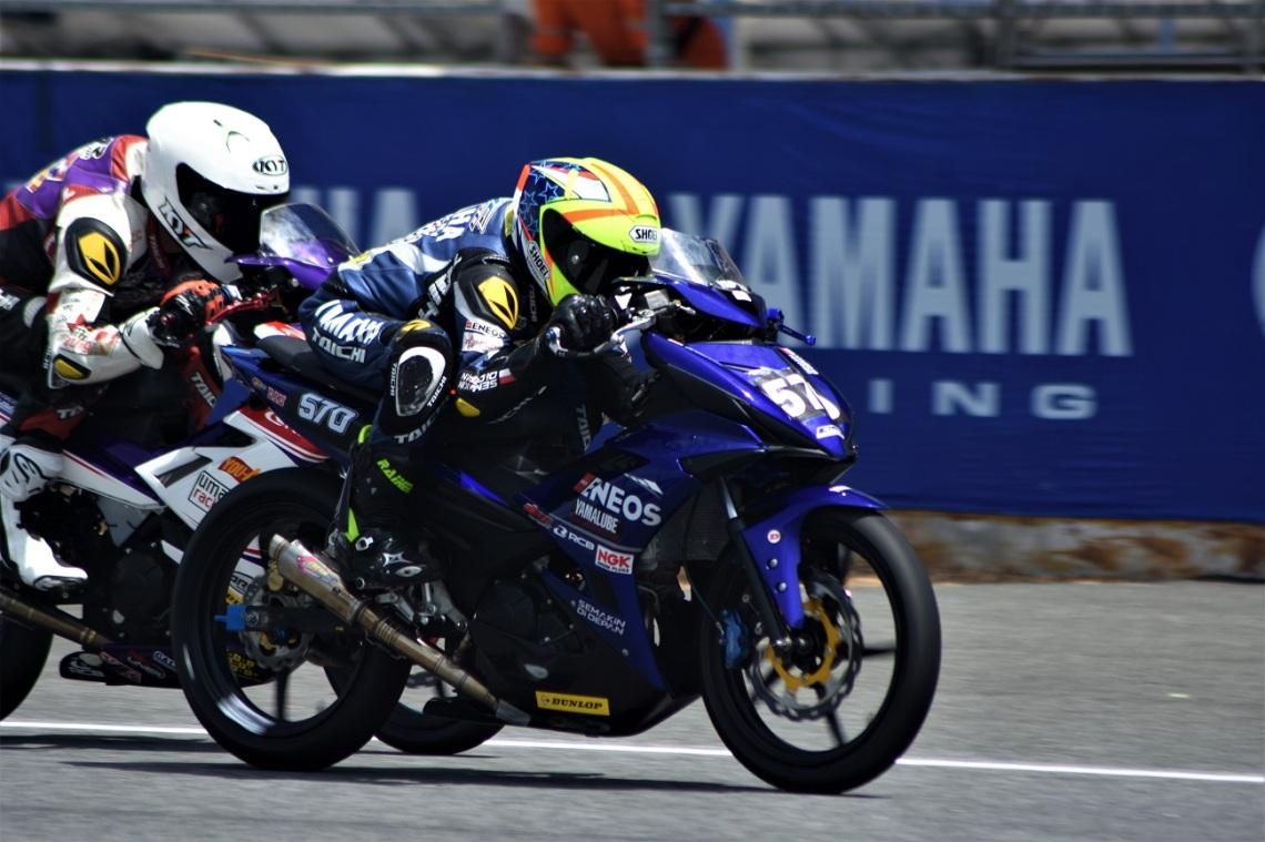 Aldi Satya Mahendra, Action Race 2 UB150