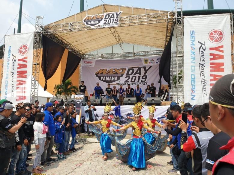 MAXI Yamaha Day di Stadion Pakansari Cibinong (5)