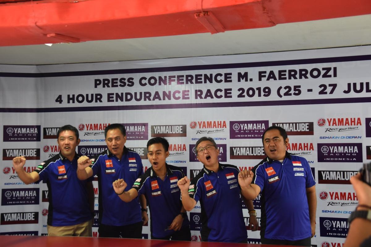 FAEROZ SIAP BAWA NAMA INDONESIA DI SUZUKA 4HOURS