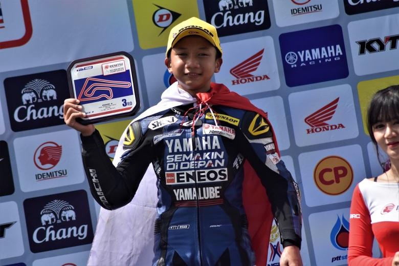 Wahyu Nugroho, Podium 3 Race 2