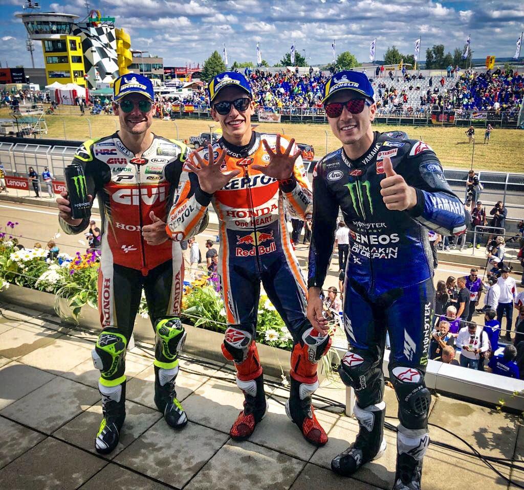 GP OF GERMANY 2019 – RACERESULT