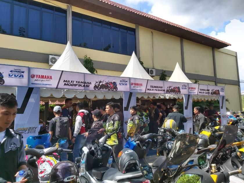 Kemeriahan MAXI Yamaha Day Singkawang (1)