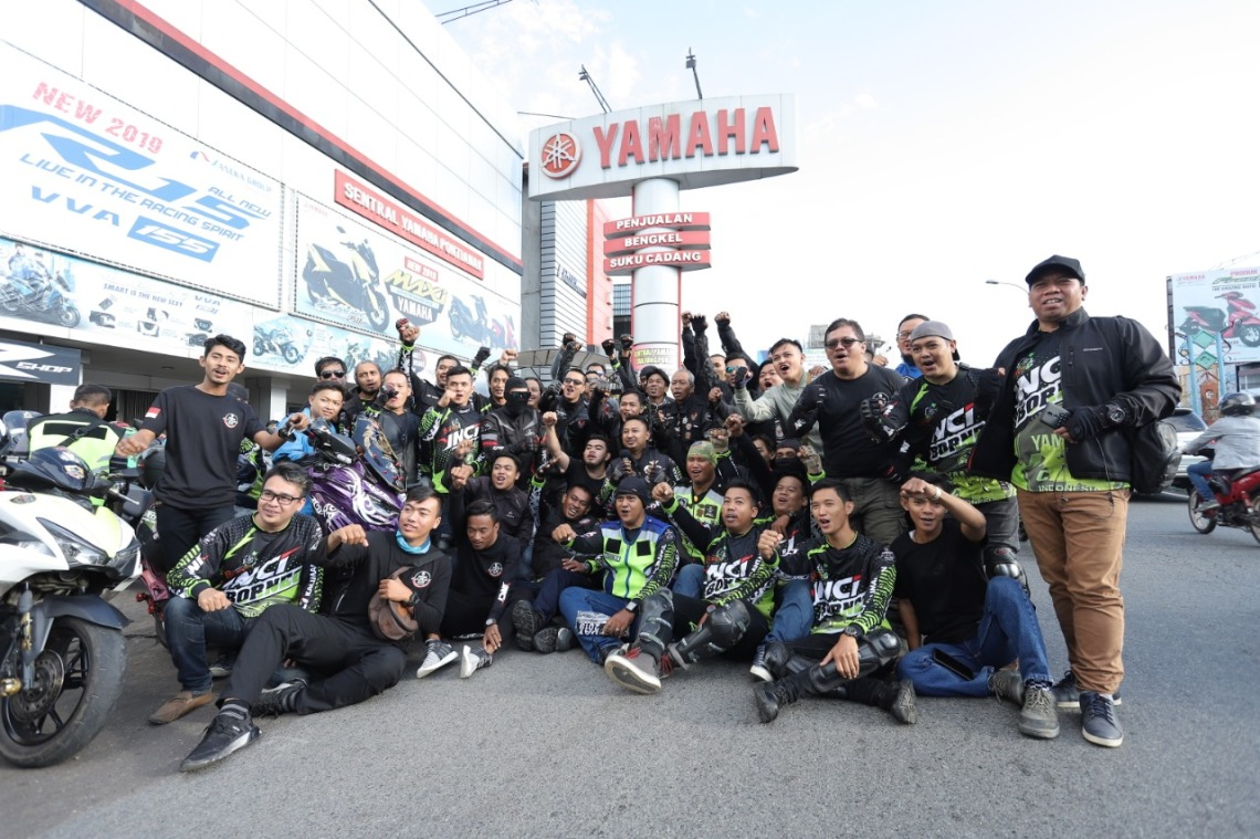 Kemeriahan MAXI Yamaha Day Singkawang (2)