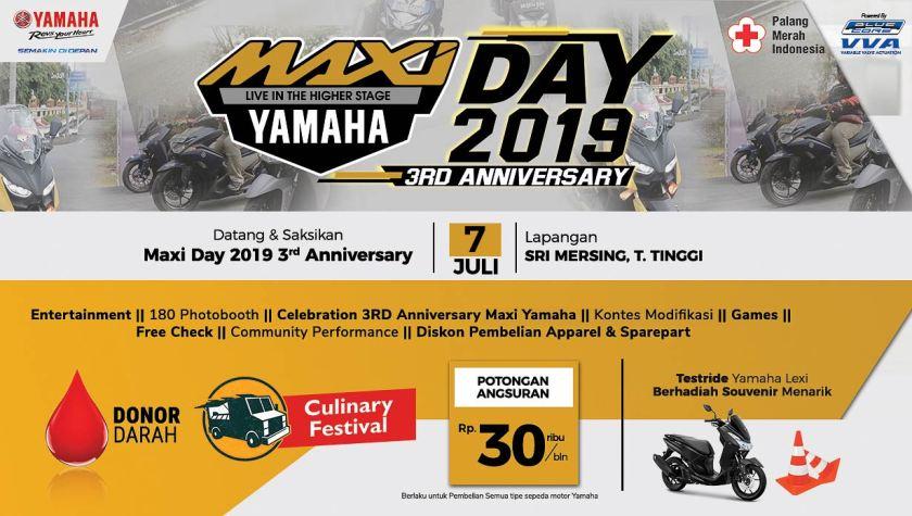 MAXI Yamaha Day di Tebing Tinggi (1)