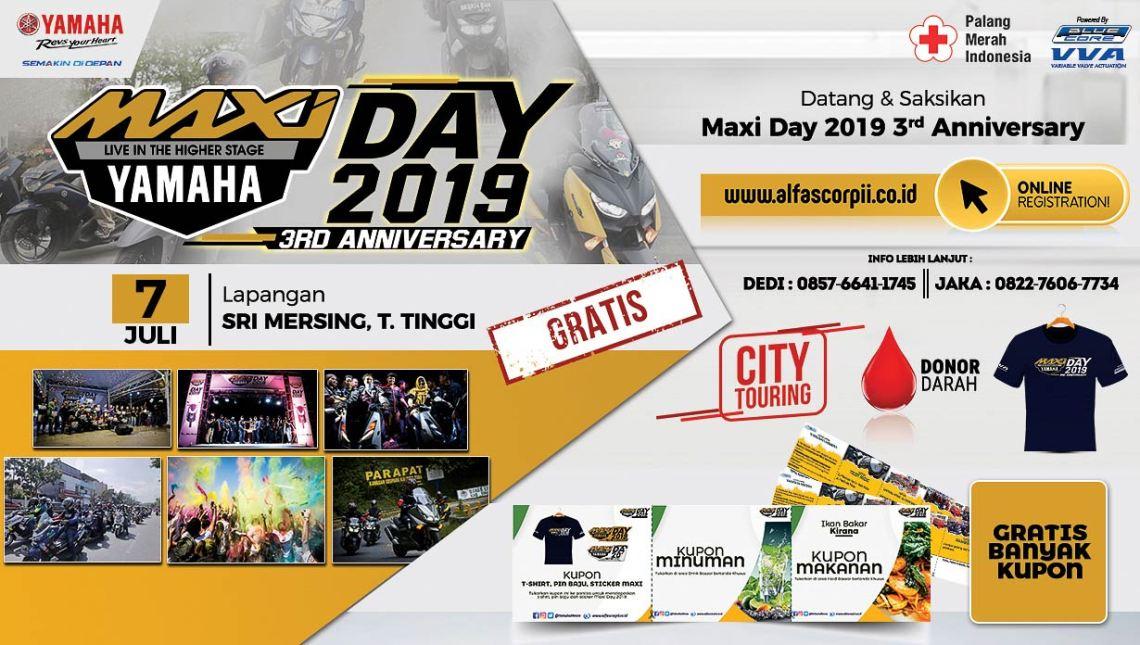MAXI Yamaha Day di Tebing Tinggi (2)