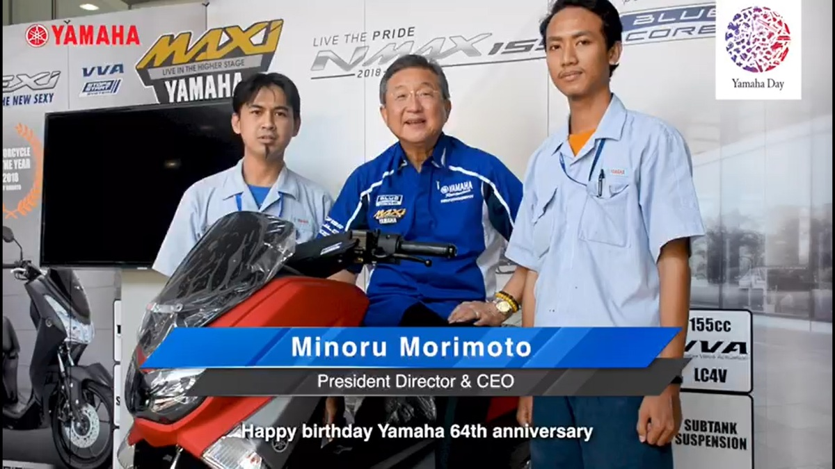 HAPPY 64TH ANNIVERSARY YAMAHA