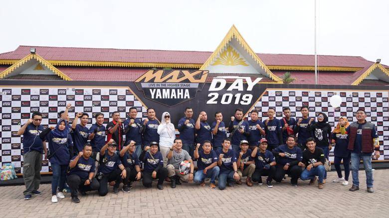 Wall of Fame di MAXI Yamaha Day Tebing Tinggi