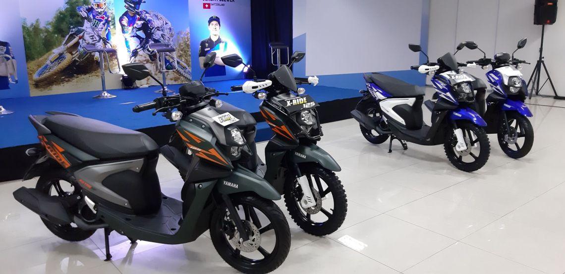 X-ride Racing Blue dan X-ride Extreme Green