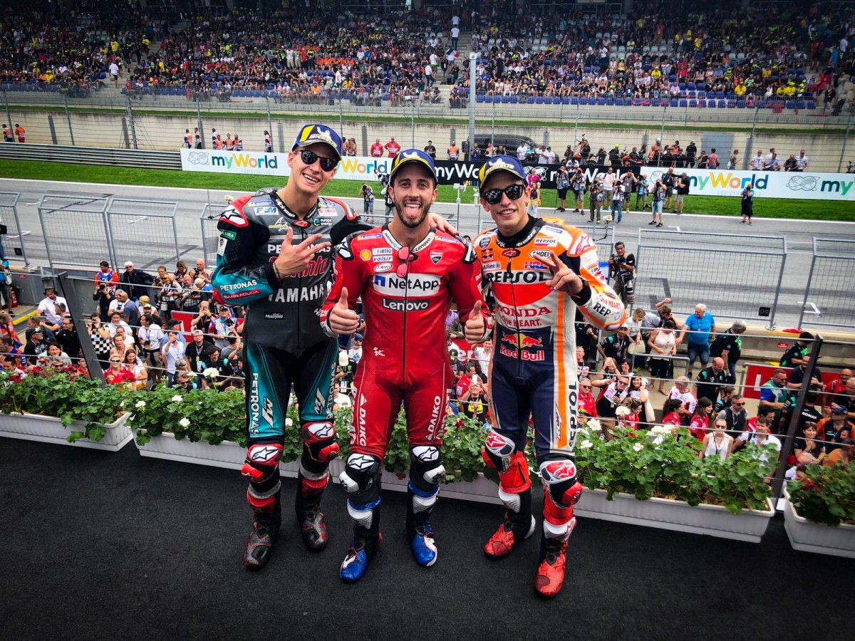 GP OF AUSTRIA 2019 – RACE RESULT