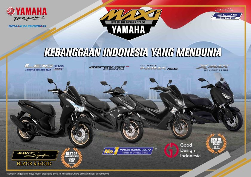 MAXI Yamaha Blue Core