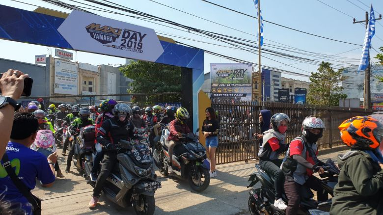 MAXI Yamaha Day Puncak Tinambung Gowa (2)