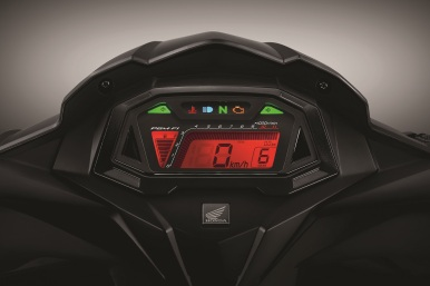 New Honda GTR 150 Cockpit