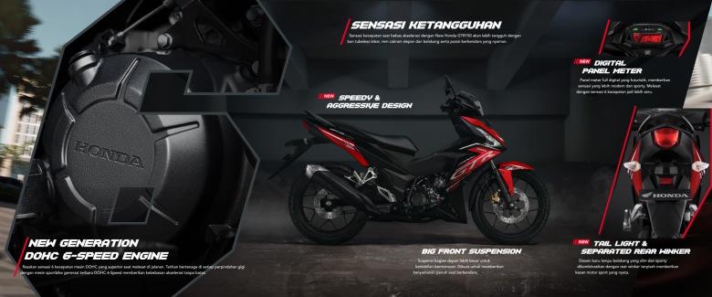 New Honda GTR 150 Engine