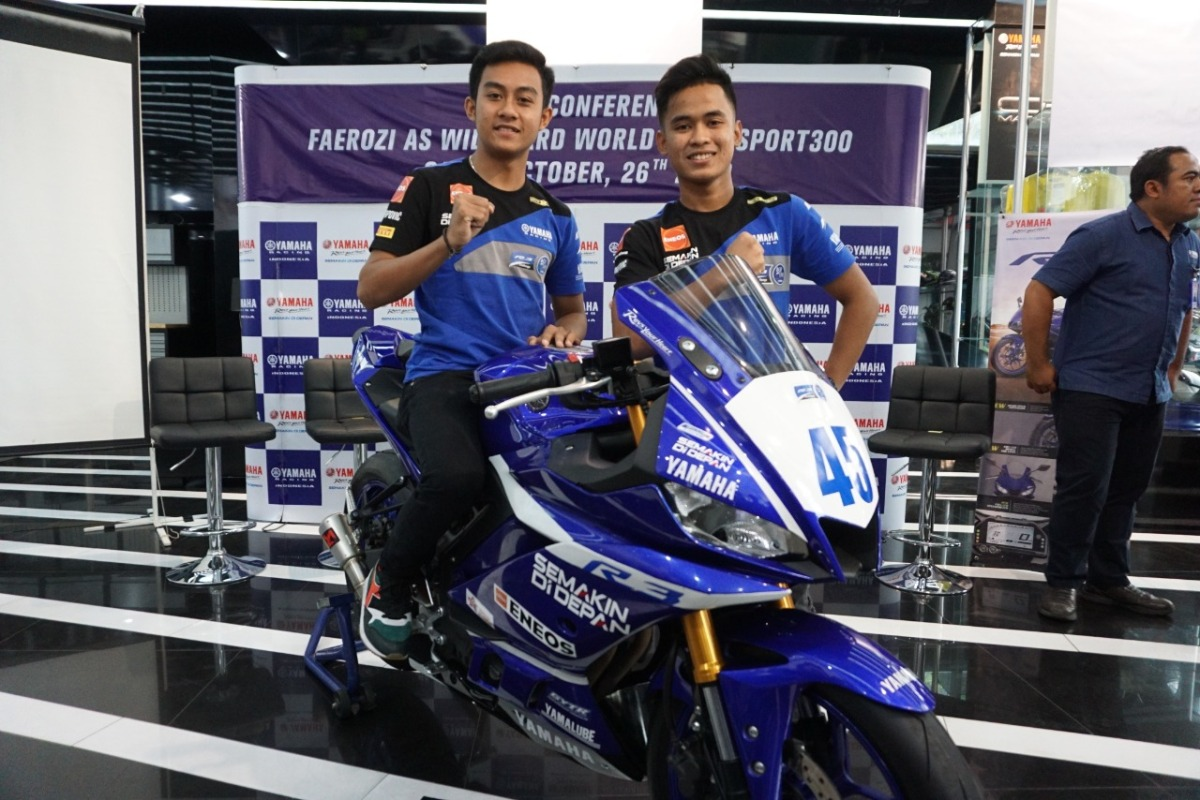 RIDER YAMAHA INDONESIA, FAEROZ BERKESEMPATAN TAMPIL DI WORLD SUPERSPORT 300 SERI QATAR