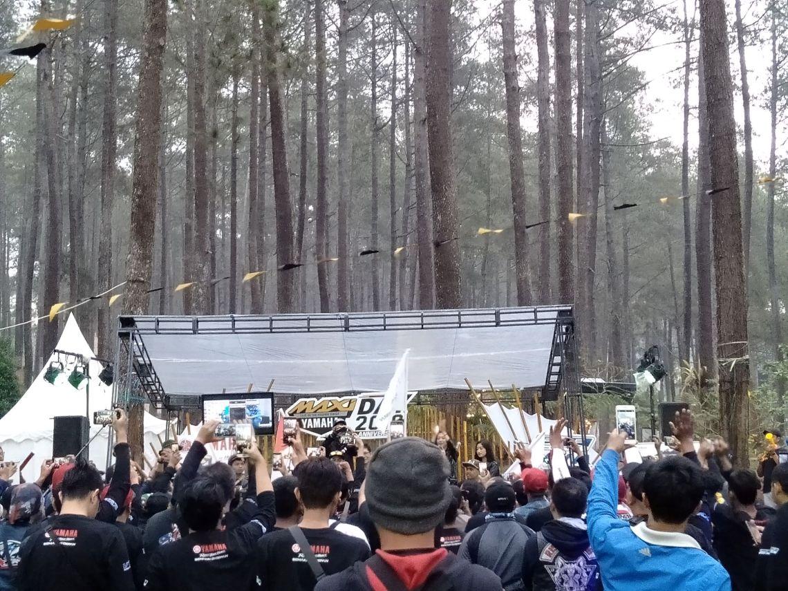 MAXI Yamaha Day di Orchid Forest Lembang Bandung (9)