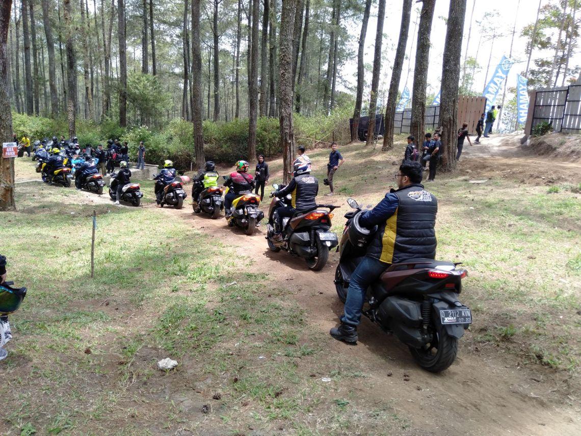 MAXI Yamaha Day di Orchid Forest Lembang Bandung