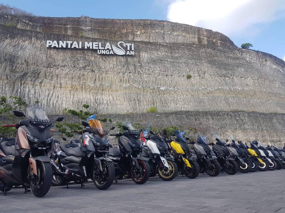 MAXI Yamaha Day di Pantai Melasti Bali (5)