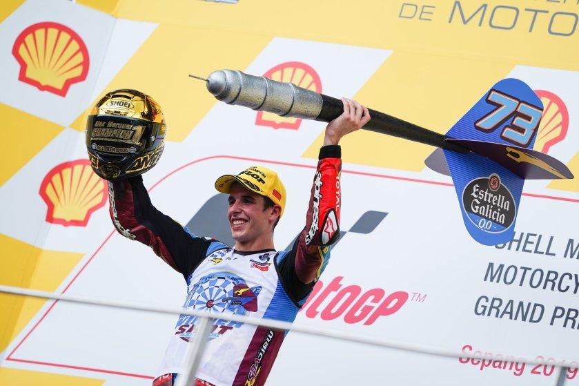ALex Marquez Champions