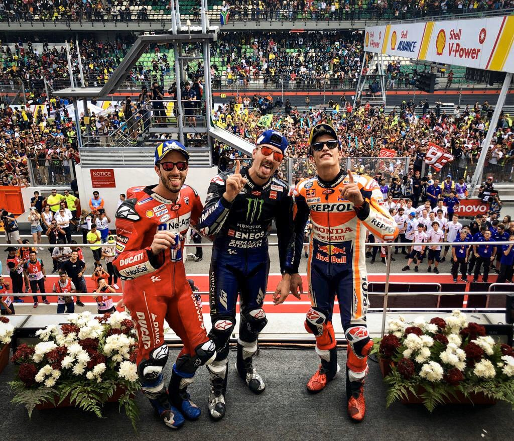 GP OF MALAYSIA 2019 – RACERESULT