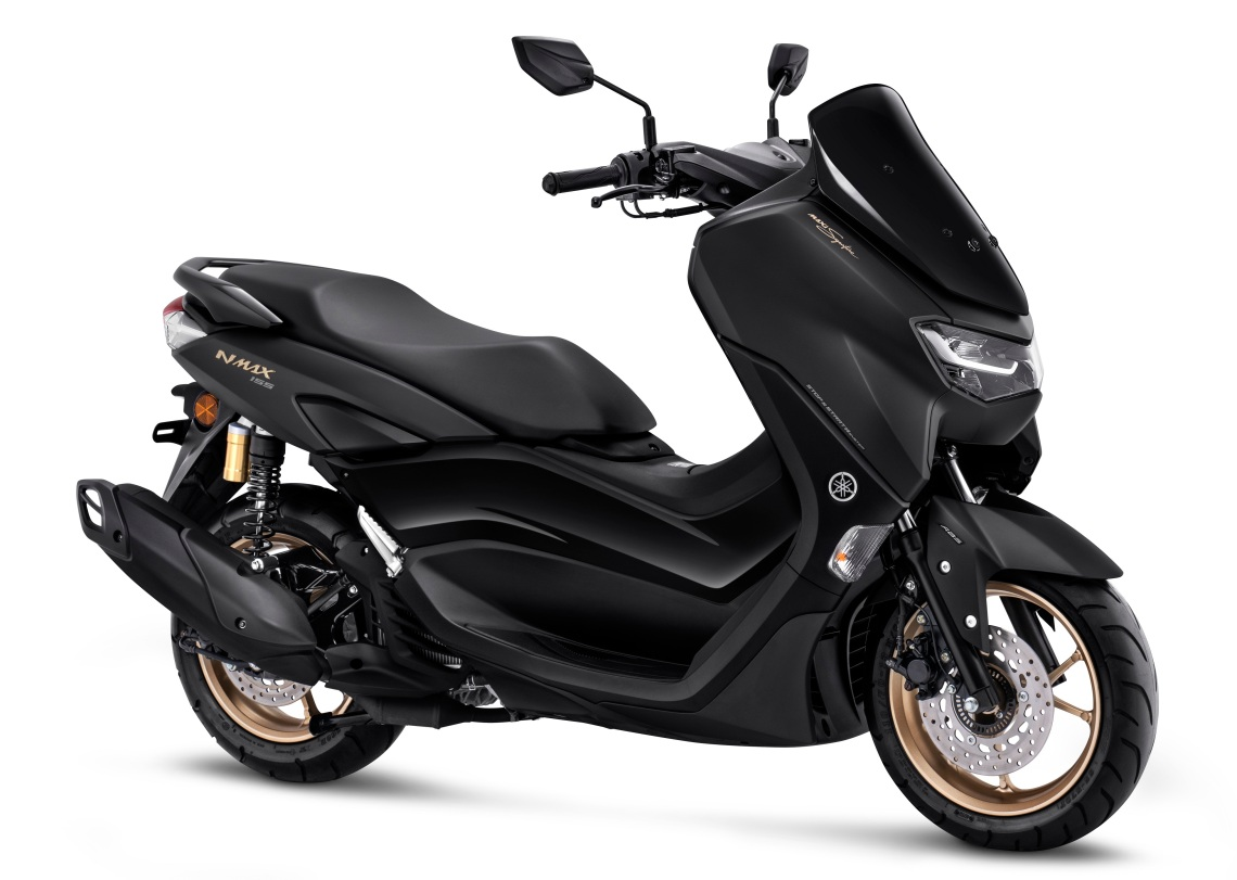 All New Nmax 155 Connected ABS Matte Black (MAXI Signature)