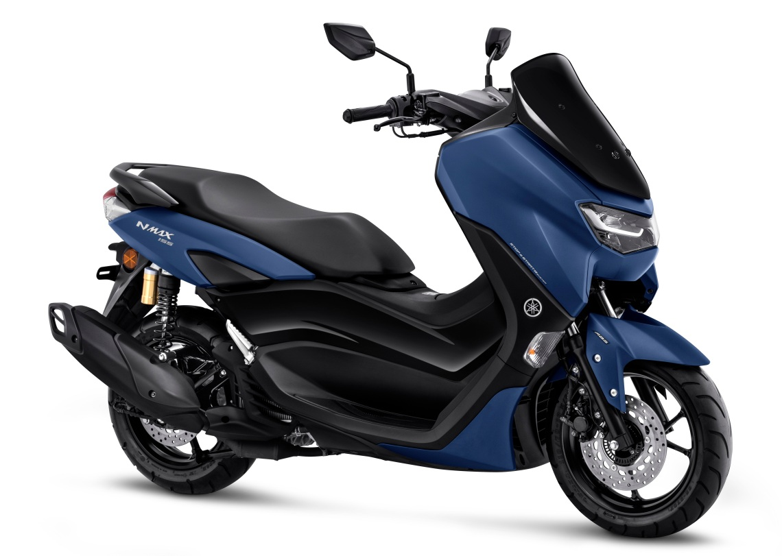 All New Nmax 155 Connected ABS Matte Blue