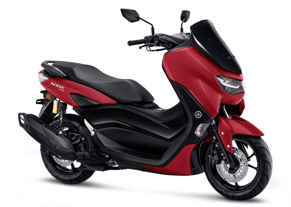 All New Nmax 155 Standard Matte Red