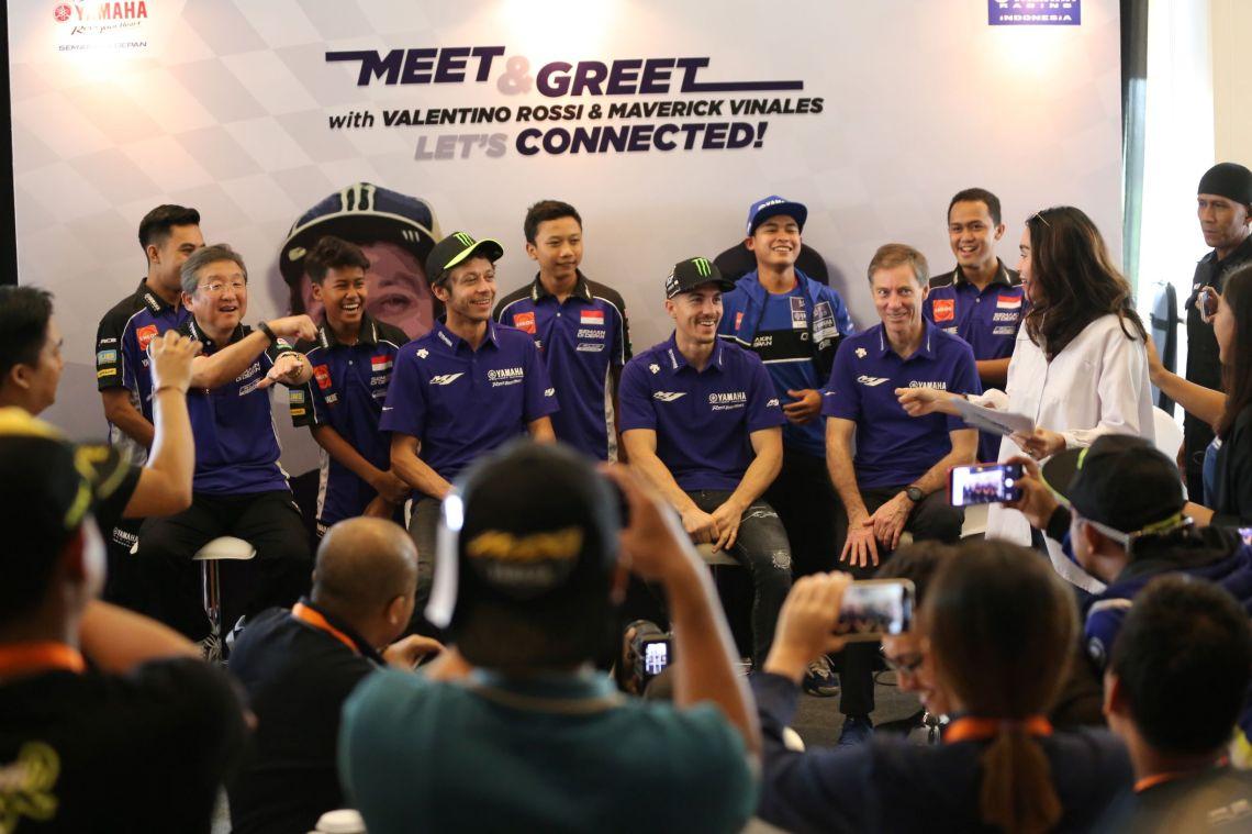 Meet & Greet Valentino Rossi dan Maverick Vinales (3)