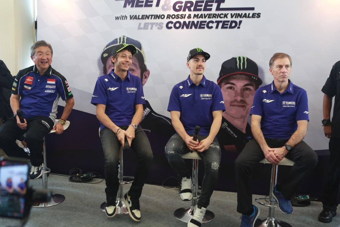 Meet & Greet Valentino Rossi dan Maverick Vinales (4)