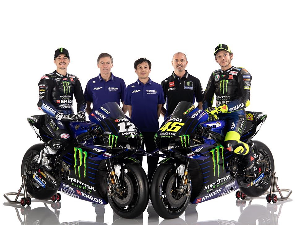 Monster Energy Yamaha 2020