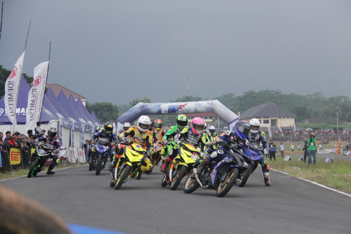 Perhelatan Seri 1 Yamaha Cup Race di Boyolali 2019 (2)